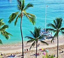 Waikiki Catamaran by TelestaiPix