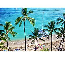 Waikiki Catamaran Photographic Print