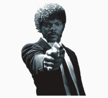Samuel L Jackson in Pulp Fiction by mob345