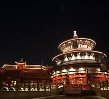 China at Night by howeirdd