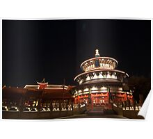 China at Night Poster