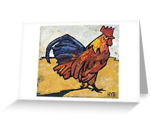 Rules the Roost Greeting Card