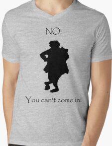 Bilbo NO! Mens V-Neck T-Shirt