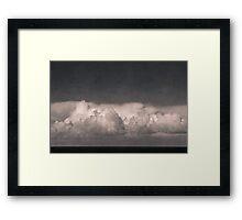 earth sky Framed Print