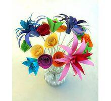 Paper Bouquet Photographic Print
