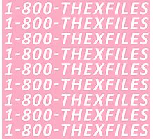 The X-Files Hotline Bling Photographic Print