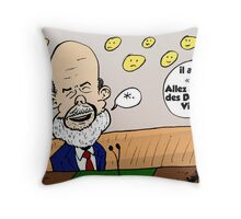 Ben Bernanke caricature Throw Pillow