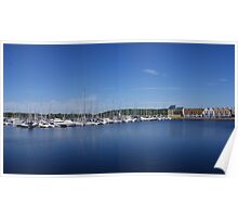 Chatham Maritime Marina Poster