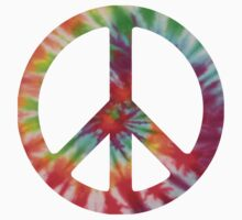 Tie Dye 2 Peace Sign by mob345