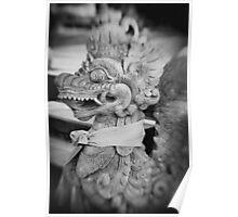 Dragon Statue Poster