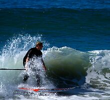 Stand Up Paddle Board Action by Noel Elliot