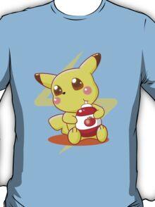 Pikachu & Tomato Ketchup T-Shirt