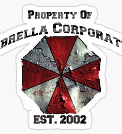 Property of Umbrella Corp Sticker