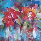 Flowers Painting - Bright Colours by Ballet Dance-Artist