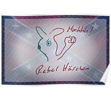 Rebel Häschen / Rebel Rabbit / Rebellis Lepusculus Poster