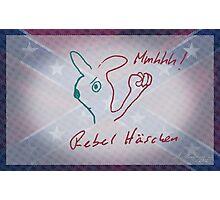 Rebel Häschen / Rebel Rabbit / Rebellis Lepusculus Photographic Print