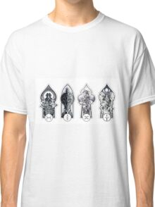 Alchemical Elements (Tin, Iron, Copper, Silver) Classic T-Shirt