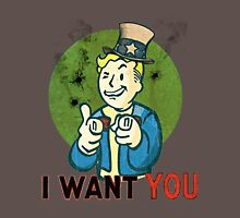 i want you  Unisex T-Shirt