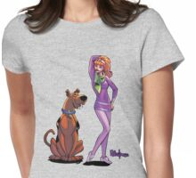 Scooby and Daphne Womens Fitted T-Shirt