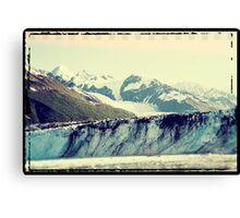 Analog Alaskan Glaciers Canvas Print