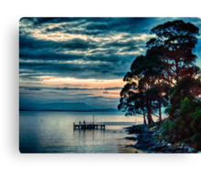East Cove Jetty Canvas Print