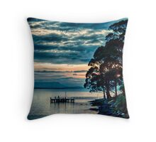 East Cove Jetty Throw Pillow