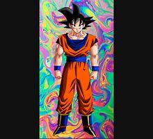 Goku ~ Rainbow Swirl Background Unisex T-Shirt