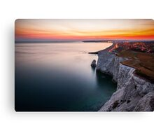 Seaford at dusk Canvas Print