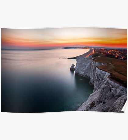 Seaford at dusk Poster