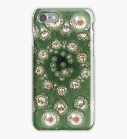 Green baubles iPhone Case/Skin