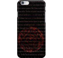 Supernatural Exorcism Case iPhone Case/Skin