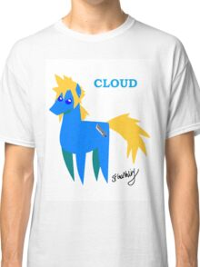 Cloud - BBBFF Version (FFVII & MLP) Classic T-Shirt