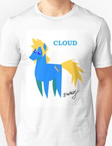 Cloud - BBBFF Version (FFVII & MLP) T-Shirt