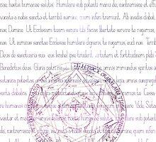 Supernatural Exorcism White Case by HizaChu