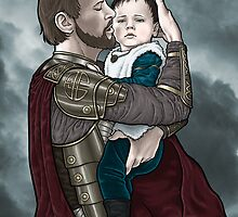 Odin and young Loki by Alessia Pelonzi