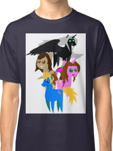 FFVII Cast (In BBBFF Version Of MLP) Classic T-Shirt