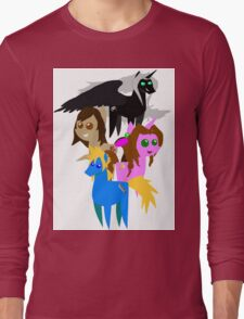FFVII Cast (In BBBFF Version Of MLP) Long Sleeve T-Shirt