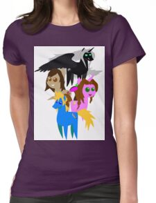 FFVII Cast (In BBBFF Version Of MLP) Womens Fitted T-Shirt