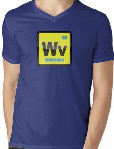 Element of Wolverine Mens V-Neck T-Shirt