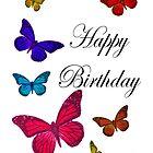 Birthday Butterflies  by martinspixs