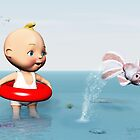 BabyToon and the Fish by Roberta Angiolani