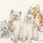 Kittens by BarbBarcikKeith