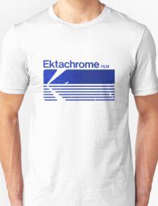 Vintage Photography: Kodak Ektachrome - Blue T-Shirt