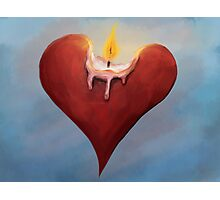 Burning Passion Photographic Print