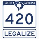 South Carolina 420 - HIGHway to Legalize by IntWanderer