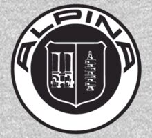 Alpina Badge Logo (Sticker / T-Shirt) by vincepro76