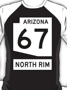 AZ 67 - The Road to the North Rim T-Shirt