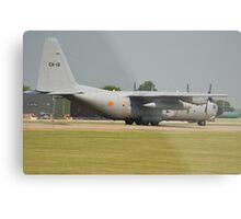 Belgian Air Force C130H Metal Print