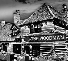 The Woodman Pub by DavidHornchurch