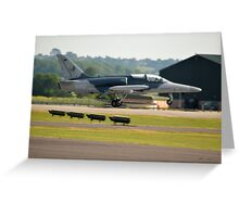 Czech Air Force L-159ALCA Greeting Card